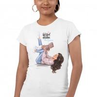 Дамска тениска Мама и Мини - Blessed mama #boymom