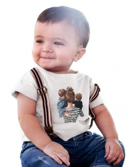 MOM of BOYS тениска или боди за момче