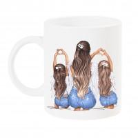 Чаша за мама с арт принт - Angels