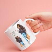 Чаша за мама с арт принт - Mama & Mini