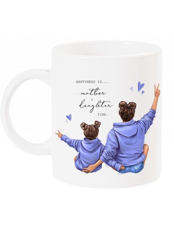 Чаша за мама с арт принт - Mother & Daughter