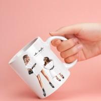 Чаша за мама с арт принт - #pillow challenge