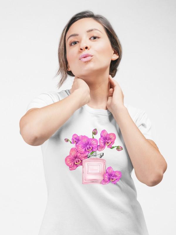 """Дамска тениска """"Орхидеи"""""""