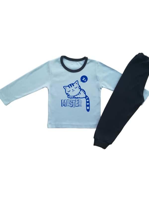 Детска пижама MASTER  С КОТЕ