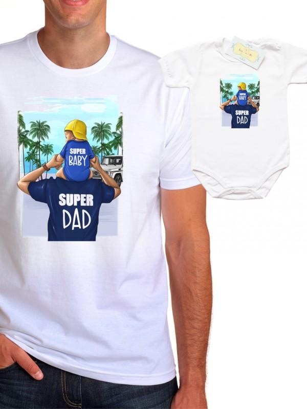 Сет тениски за БАЩА и СИН