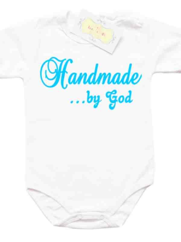 """Забавно боди """"Handmade... by god"""""""