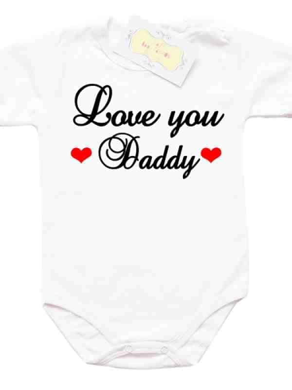 """Забавно боди """"Love you Daddy"""""""