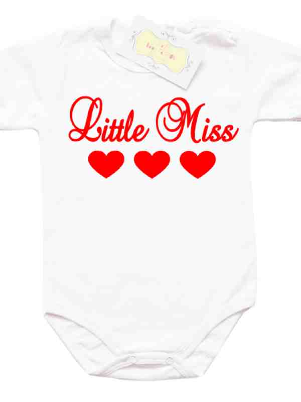 "Забавно боди ""Little Miss"""