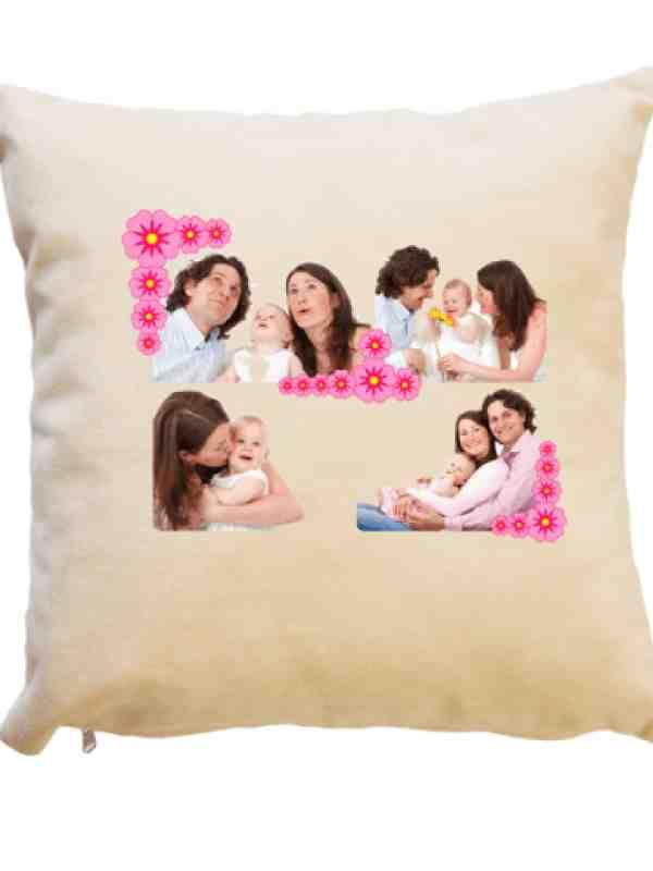 Декоративна възглавница със снимки