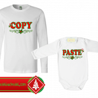 Комплект за таткото и бебето COPY/PASTE