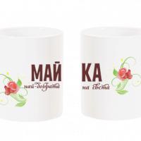 """Чаша за мама с надпис """"Най-добрата майка на света"""""""