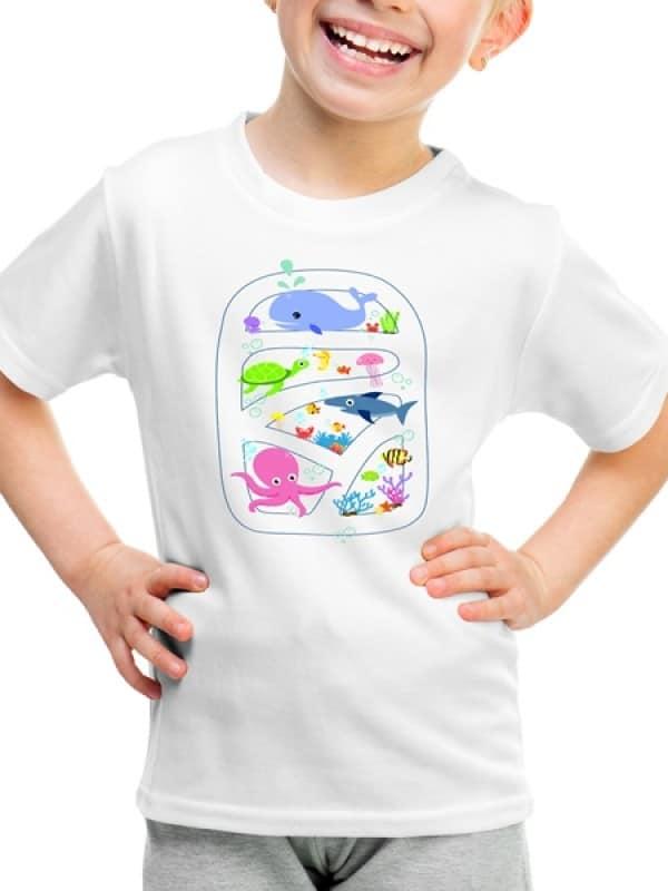 "Детска тениска ""Подводно Царство"""