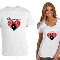 За влюбени двойки - комплект тениски